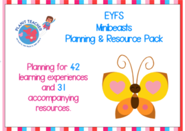 Minibeasts Planning and Resources - EYFS/Reception
