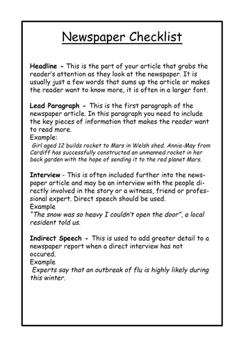 year 8 reports about danger pdf