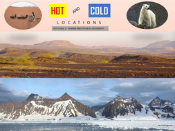 KEY STAGE 1 - LOCATIONAL GEOGRAPHY HOT AND COLD