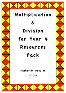 multiplication division and tables resource pack for year 4 by mathsright uk teaching. Black Bedroom Furniture Sets. Home Design Ideas