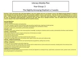 The Slightly Annoying Elephant - Year 2 Literacy