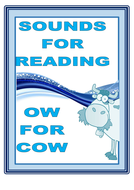 SOUNDS FOR READING  :  OW  FOR  COW