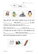 Vowel Digraphs:  Set 8 AIR & AR sound