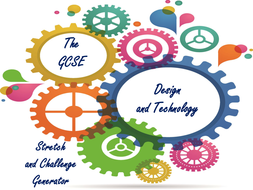 The GCSE Design and Technology Stretch and Challenge Generator