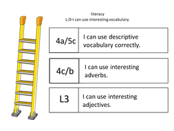 success criteria template by ljinch teaching resources tes