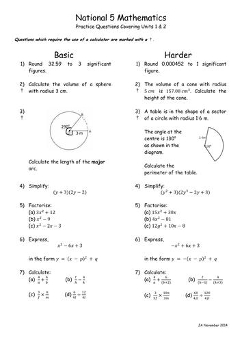 mathematics specialist unit 1 and 2 pdf