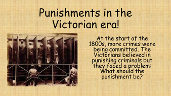 crime during the victorian era