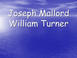 Turner's-Life-Powerpoint.ppt