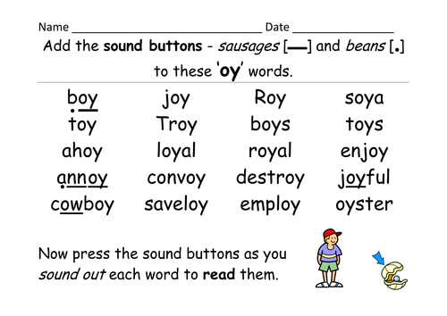 Letters And Sounds Phase  Oy