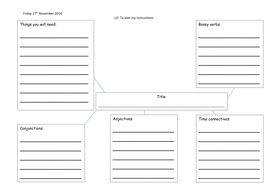 planning instructions template by charlieray teaching resources tes