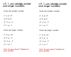 Negative Numbers Year 4 by charliyuk - Teaching Resources - Tes