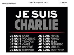 Charlie Hebdo - les evenement s en France