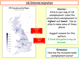 Internal migration in the UK