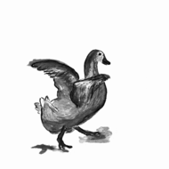illustration for the story for children: Little Duck Andrea quacks naughty words.png