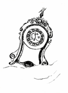 illustration for the fairy-tale: The Tale of the Little Porcelain Clock.jpg