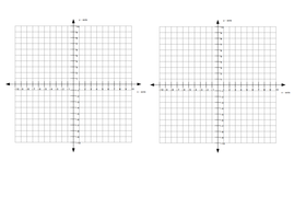Solving linear simultaneous equations graphically by