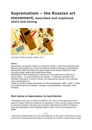 SUPREMATISM - DESCRIBED & EXPLAINED - in short text-quotes of Jacob Bendien -in-PDF.pdf