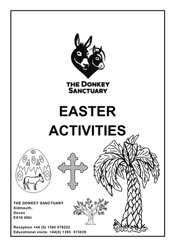 The Donkey Sanctuary Easter Activities by