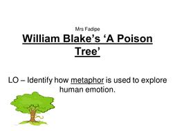 a poison tree tone