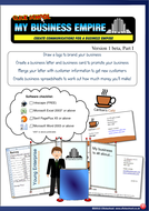 My Business Empire Enterprise Logos Letters Business Cards Mail