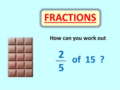 Find Fractions Of Numbers By Skillsheets Uk Teaching