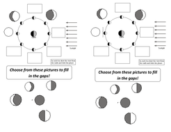Phases of the moon worksheet and PowerPoint by LozChem - Teaching ...