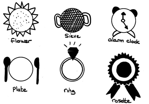 Drawing game how many things can you draw using just a for Something you can draw