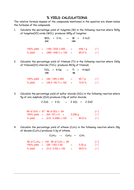 Theoretical and Percent Yield Worksheet ANS   Stoichiometry Review as well Sch 3U Limiting Reagents And Percent Yield Worksheet Given The further theoretical and percent yield worksheet answers 18 limiting additionally Stoichiometry Worksheet 2 Percent Yield Answer Key as well Percent Yield and Stoichiometry Notes and Practice Problems as well Limiting Reactant And Percent Yield Worksheet Answers   Lobo Black besides Percent Yield Worksheet   Croefit likewise Empirical and Molecular Worksheet Answer Key as Well as additionally  besides How to Calculate Percent Yield  Definition    Ex le in addition Percentage Yield Calculations by ChemTV   Teaching Resources besides Stoichiometry   Percent Yield Worksheet by Andrew Teorsky   TpT additionally Chemistry Percent Yield Worksheet The best worksheets image further Percent Yield Calculations as well Limiting Reactant and Percent Yield Worksheet Answers ly 53 furthermore Theoretical  Actual and Percent Yield Problems   Chemistry Tutorial. on chemistry percent yield worksheet answers