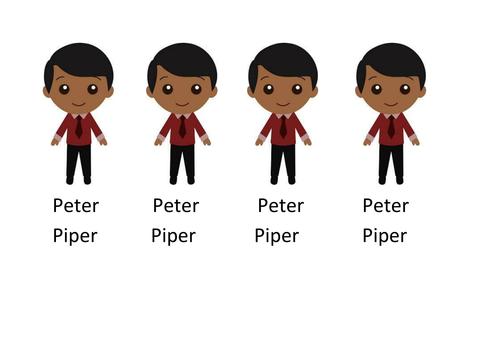 Peter Piper Preschool Activity Alliteration by annarapotu ...