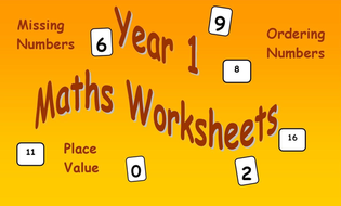 Maths Worksheets Year 1