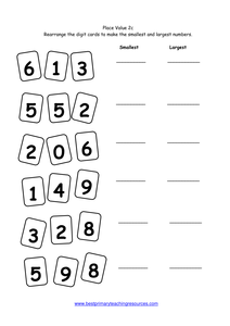 year 2 number worksheets place value. Black Bedroom Furniture Sets. Home Design Ideas