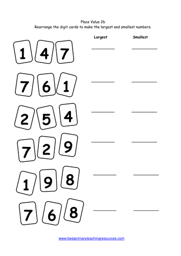 Ordering 3 digit numbers worksheet tes mattawa ordering 3 digit numbers worksheet tes ibookread Download