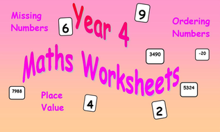 Maths worksheets year 4 by bestprimaryteachingresources teaching maths worksheets year 4 ibookread Download