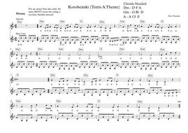 Korobeiniki (Tetris A Theme) - Melodic Lead Sheet