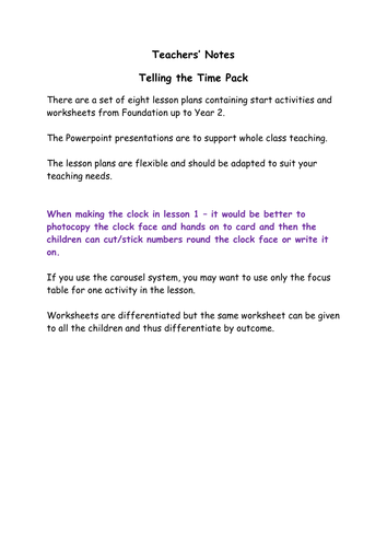 Time Worksheets time worksheets one hour later : Pack 1: Telling the time (analogue/digital) - 12 hr clock ...