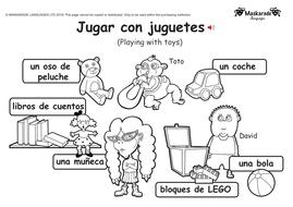 ks1 spanish level 1 hobbies activities by maskaradelanguages teaching resources. Black Bedroom Furniture Sets. Home Design Ideas