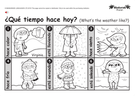 ks1 spanish level 1 clothes weather holiday by maskaradelanguages teaching resources. Black Bedroom Furniture Sets. Home Design Ideas