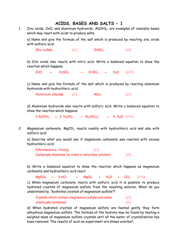 English Worksheets To Print Word Chemistry Acids Bases And Salts By Greenapl  Teaching Resources  Free Printable Grammar Worksheets For Grade 4 with Grade 2 Measurement Worksheets Pdf Chemistry Acids Bases And Salts By Greenapl  Teaching Resources  Tes Dependent Clause Worksheets Pdf