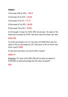 Percentage increase / decrease using a single multiplier by ...