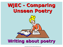 WJEC-Comparing-Unseen-Poetry.ppt