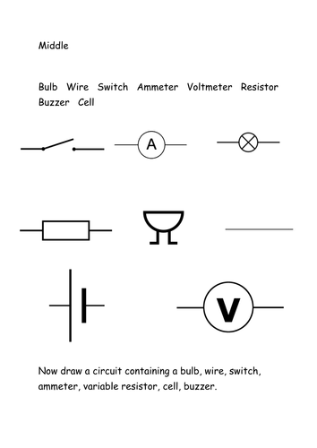Circuits, Current and Parallel Circuits by adz017 - Teaching ...