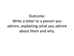 how do you write a letter to someone