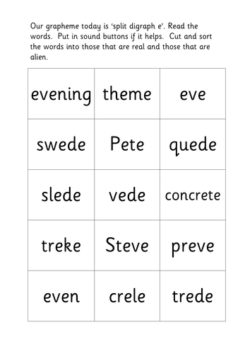 how to teach split vowel digraphs