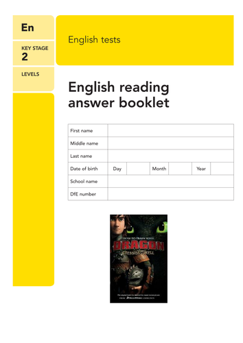 Sats style reading comprehension narrative how to train your sats style reading comprehension narrative how to train your dragon by lastingliteracy teaching resources tes ccuart Choice Image