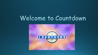 countdown game on powerpoint by dawnpooley teaching resources tes