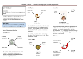 Understanding Operational Objectives