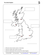 label the uk and outline maps by wildgooseeducation teaching resources. Black Bedroom Furniture Sets. Home Design Ideas