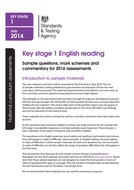key stage 1 2016 sample reading test   Teaching Resources