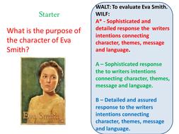 eva smith character analysis