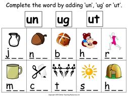 Free 5th Grade Reading Worksheets Making Un Ug And Ut Words  Animated Powerpoint  Chromosomal Mutations Worksheet Excel with Months Of Year Worksheet  Makingunugandutwordsworksheetpdf Printable Time Worksheet Excel
